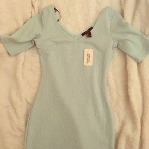 Pastel blue mini dress never used (with tag )